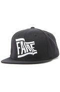 Men's The Wavy Snapback in Black, Hats
