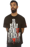Men&#39;s The Revolution Tee in Black, T-shirts