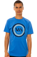 Men&#39;s The Cogwheel Tee in Royal, T-shirts