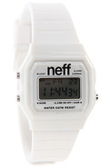 Unisex's The Flava Watch in White, Watches
