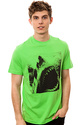 Men's The Attack Tee in Green, T-shirts