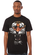 Men's The El Tigre Tee in Black, T-shirts