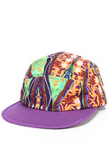 Men's The Cosby Camper Cap in Purple Multi, Hats