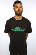 Men&#39;s The Wowie Tee in Black, T-shirts