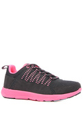 Women's The Owen Sneaker in Black Mesh, Sneakers