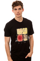 Men&#39;s The Sticky Fingers Tee in Black, T-shirts