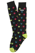 Men's The Gang High Tube Socks in Black, Socks