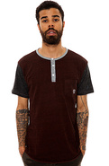 Men's The Monostack Baseball Tee in tri Brick, Top