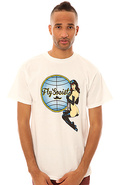 Men&#39;s The Sky 304 Tee in White, T-shirts