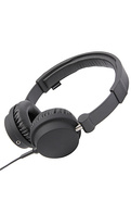 Unisex&#39;s The Zinken Headphones with Mic in Black, 