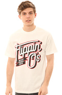 Men's The Flipping O's Tee in White, T-shirts