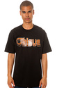 Men&#39;s The Woodgrain Tee in Black, T-shirts
