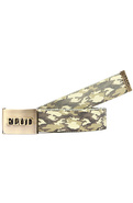 Men&#39;s The Logo Belt in Gold &amp; Camo, Belts