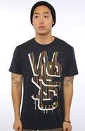 Men&#39;s The Drippy Overlay Tee in Parisian Nights, T