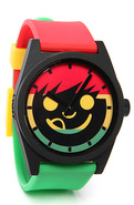 Men's The Daily Sucker Watch in Rasta, Watches
