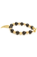 Men&#39;s The Gemstone Bracelet in Golden Wings, Jewel