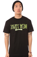 Men&#39;s The Kroy Wen Camo Tee in Black, T-shirts