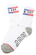 Men's The Fuck It Crew Socks in White, Socks