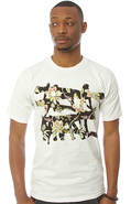 Men&#39;s The No Logo Perennial tee in White, T-shirts