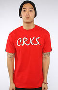 Men's The Dare Me tee in True Red, T-shirts