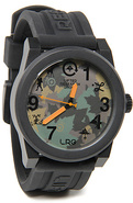 Men's The Icon Series Watch in Black & Olive Camo,