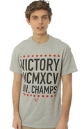 Men&#39;s The Division Champs Tee in Heather Grey, T-s