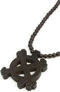 Men's The Good Wood x IN4M Crossbone Necklace, Jew