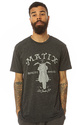 Men's The Drifters Premium Tee in Tri Black, T-shi