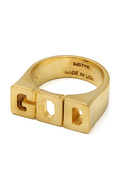 Men's The Mr. God Ring in Gold, Jewelry