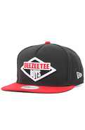 Men's The Deezeetee Boys Hat in Black and Red, Hat