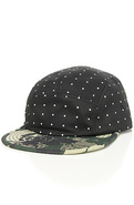 Men's The Polka LTD Camper Cap in Black, Hats