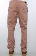 Men's The Slim Chino Pants in Dusty Brown, Pants