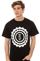 Men&#39;s The Inner Sanctum Tee in Black, T-shirts