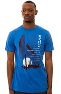 Men&#39;s The New Industry Tee in Royal, T-shirts
