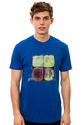 Men&#39;s The Sticky Fingers Tee in Blue, T-shirts