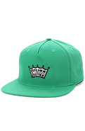 Men's The Kings 5 Panel Cap in Green, Hats