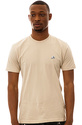 Men&#39;s The Panda Patch Premium Tee in Khaki, T-shir