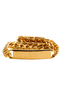 Men's The ID Bracelet in Gold, Jewelry