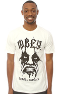 Men&#39;s The To Hell And Back Tee in White, T-shirts