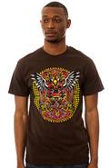 Men's The Dead God Tee in Brown, T-shirts