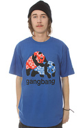 Men&#39;s The Gangbang Tee in Royal, T-shirts