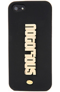 Women's The Notorious iPhone 5 Case in Gold Metal,