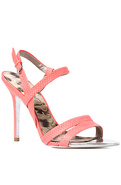 Women's The Abbott Shoe in Neon Coral, Shoes