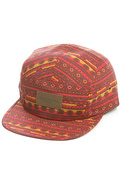 Men's The Marrakesh 5 Panel Hat in Red, Hats