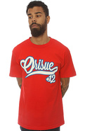 Men&#39;s The Number 12 Tee in Red, T-shirts