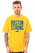 Men's The Boston Strong Box tee in Yellow, T-shirt