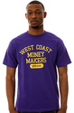 Men's The West Coast Tee in Purple and Yellow, T-s