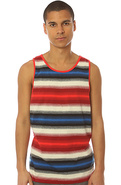 Men's The Glenway Tank Top in Red, Tank Tops