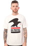 Men&#39;s The Go Postal Tee in White, T-shirts