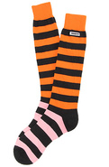 Men's The Stripe High Sock in Tangerine Tango, Soc